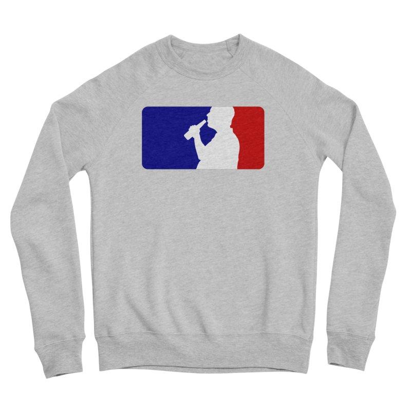 Major League Drinking Logo Women's Sponge Fleece Sweatshirt by Jerkass