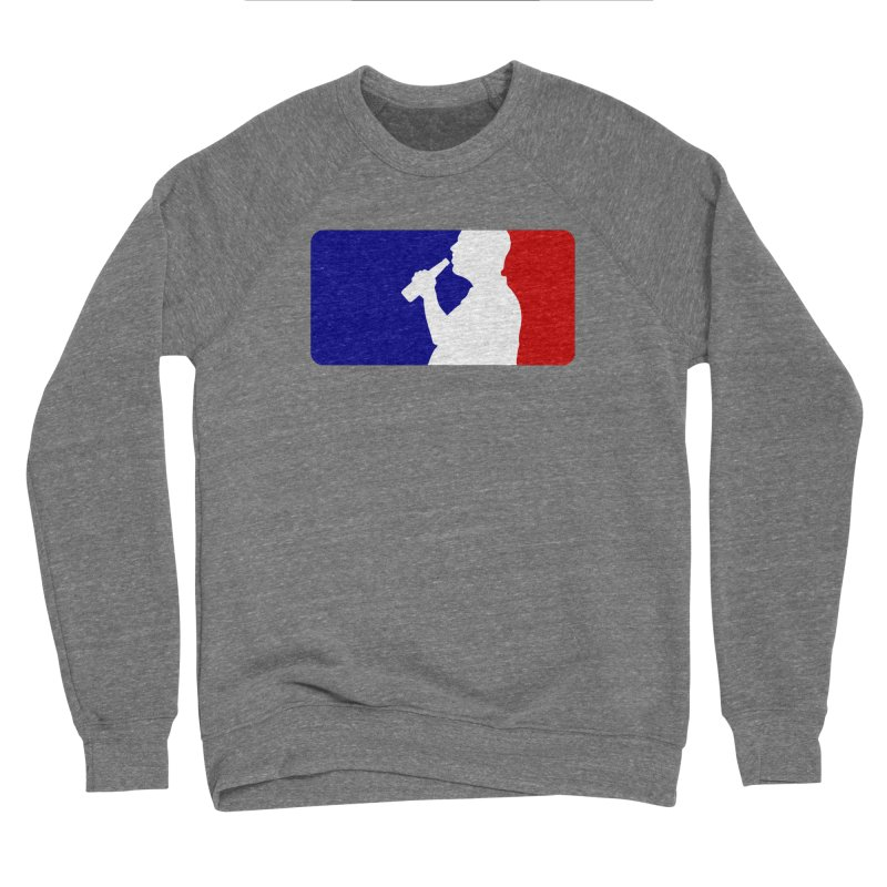 Major League Drinking Logo Men's Sponge Fleece Sweatshirt by Jerkass