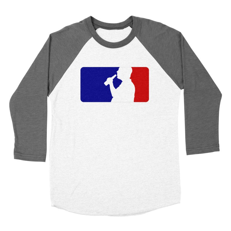 Major League Drinking Logo Women's Longsleeve T-Shirt by Jerkass