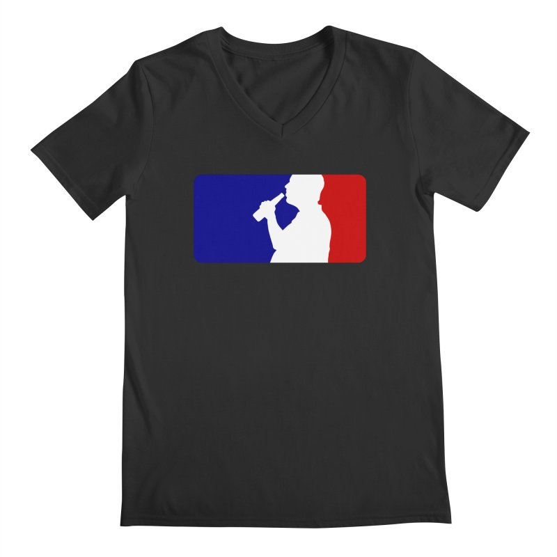 Major League Drinking Logo Men's V-Neck by Jerkass