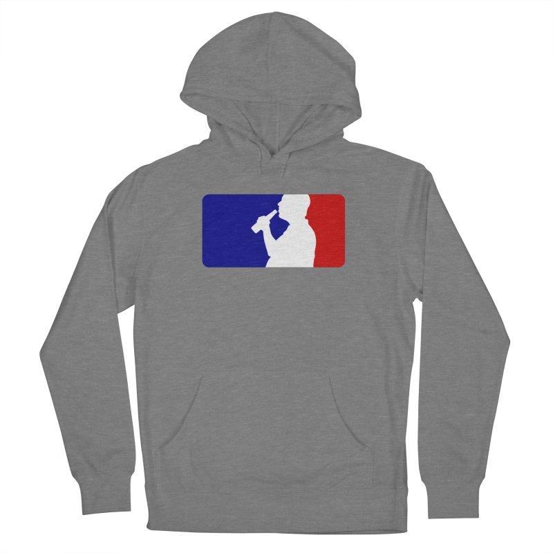 Major League Drinking Logo Women's French Terry Pullover Hoody by Jerkass