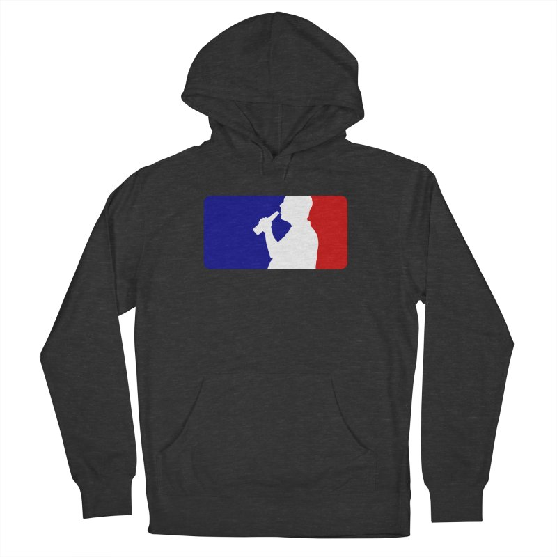 Major League Drinking Logo Men's French Terry Pullover Hoody by Jerkass