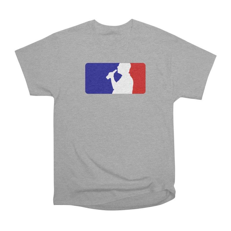 Major League Drinking Logo Women's Heavyweight Unisex T-Shirt by Jerkass