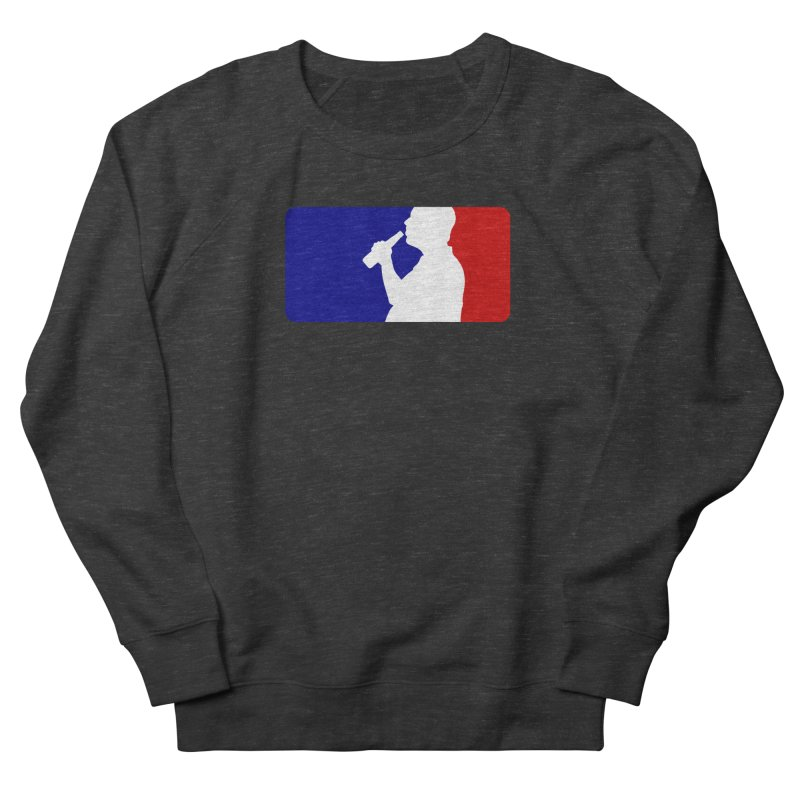 Major League Drinking Logo Men's French Terry Sweatshirt by Jerkass