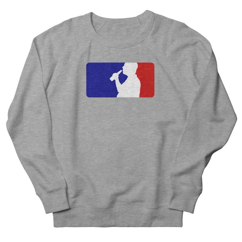 Major League Drinking Logo Men's French Terry Sweatshirt by Jerkass