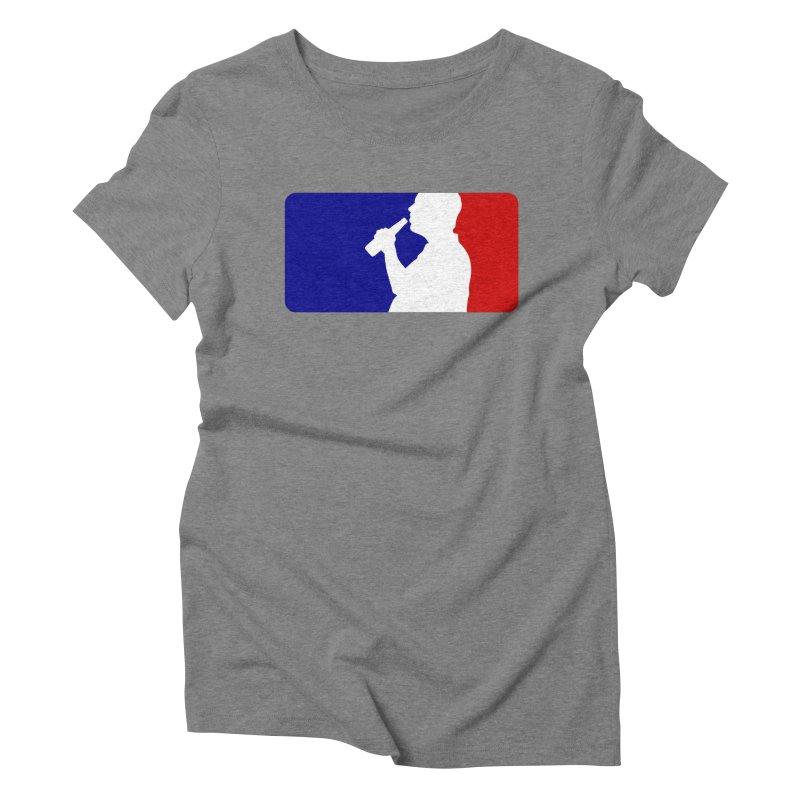 Major League Drinking Logo Women's T-Shirt by Jerkass