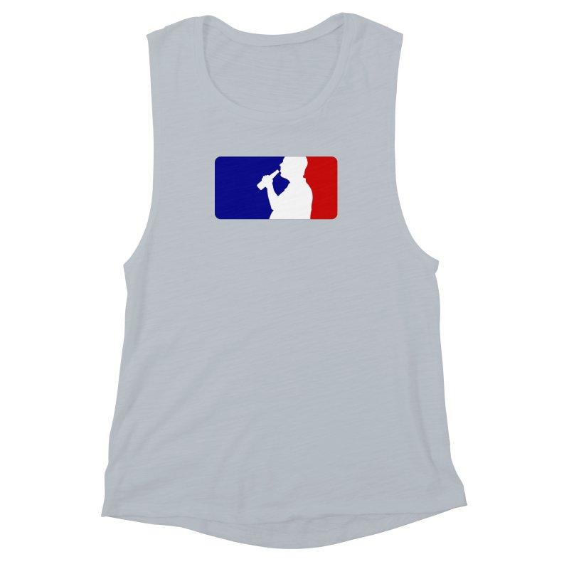 Major League Drinking Logo Women's Muscle Tank by Jerkass