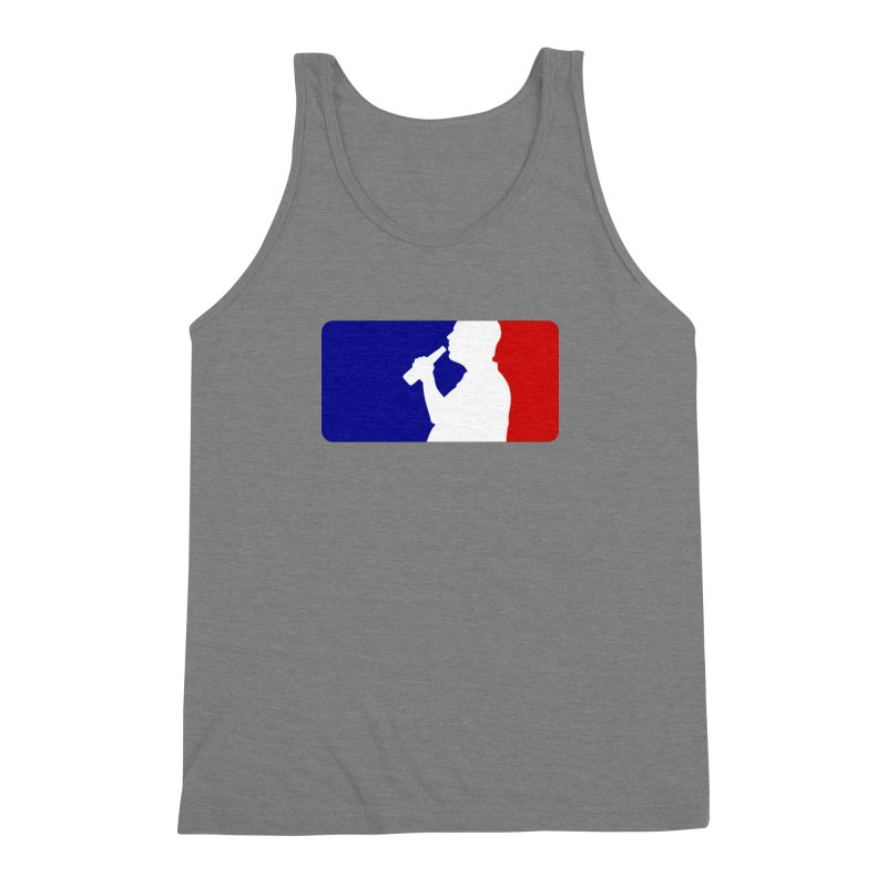Major League Drinking Logo Men's Triblend Tank by Jerkass