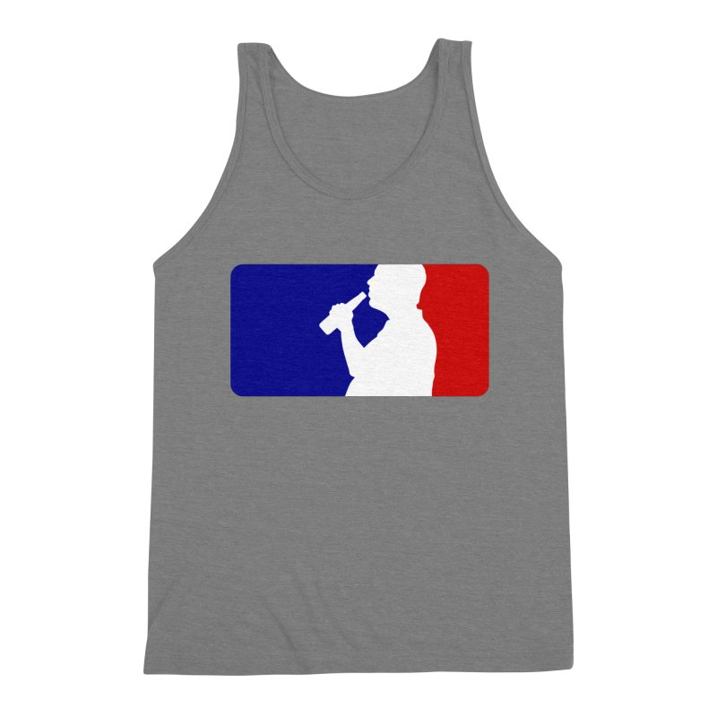 Major League Drinking Logo Men's Triblend Tank by Jerkass