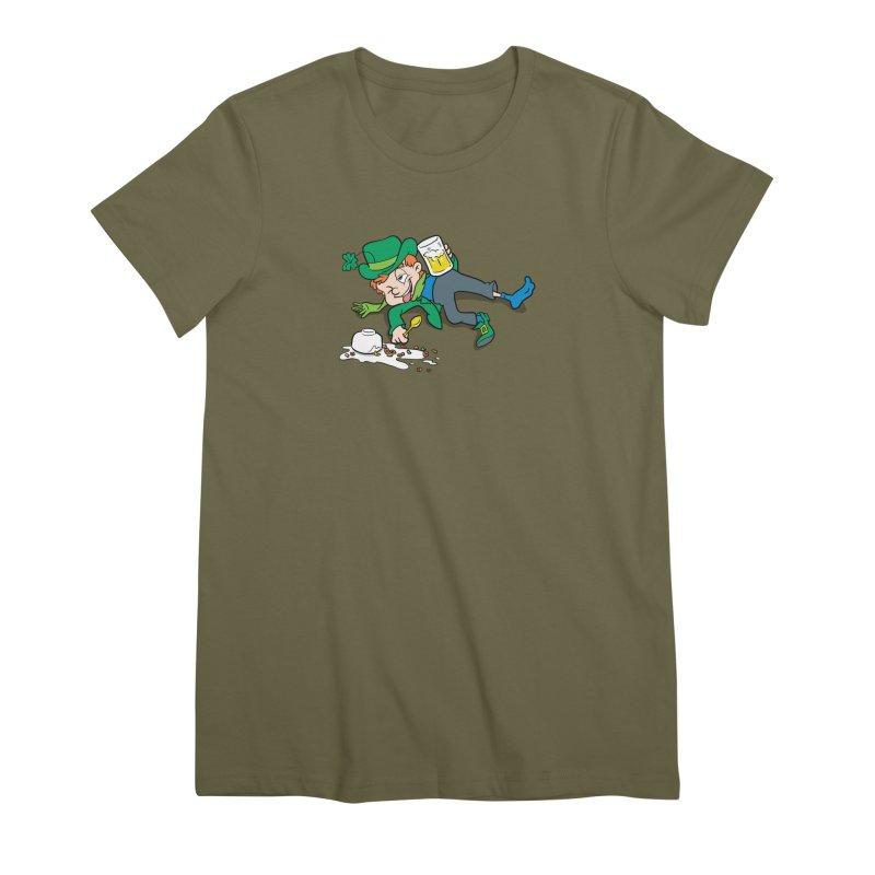Unlucky Leprechaun Women's Premium T-Shirt by Jerkass