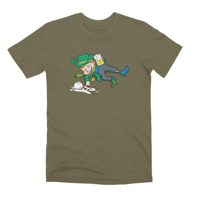 Unlucky Leprechaun Men's Premium T-Shirt by Jerkass