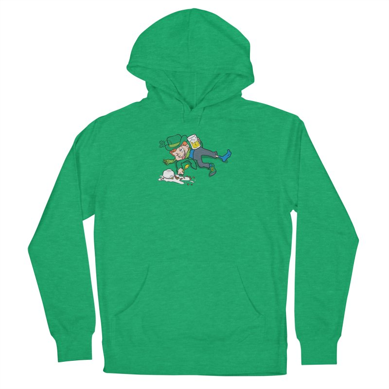 Unlucky Leprechaun Women's French Terry Pullover Hoody by Jerkass