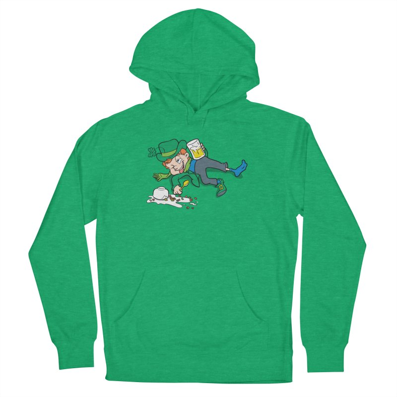 Unlucky Leprechaun Men's French Terry Pullover Hoody by Jerkass