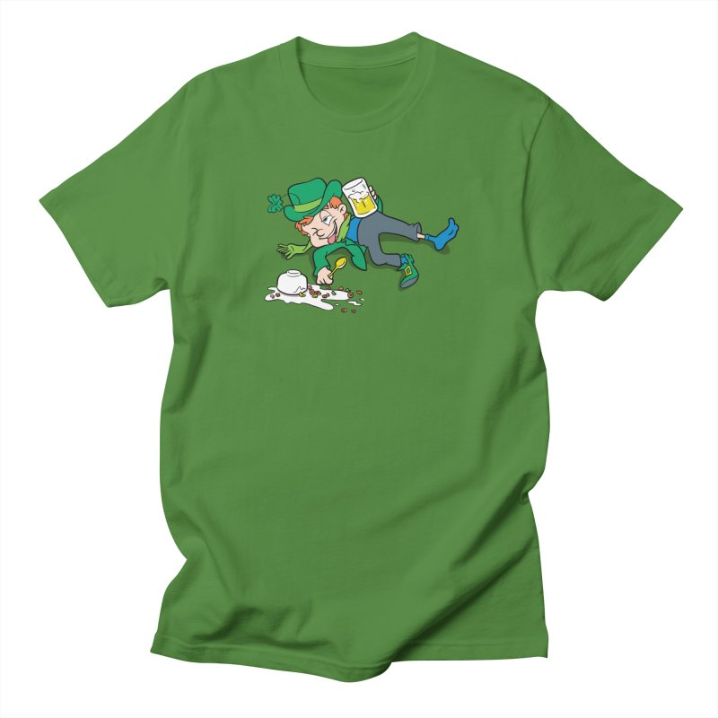 Unlucky Leprechaun Men's Regular T-Shirt by Jerkass