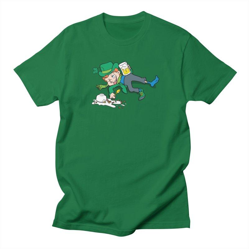Unlucky Leprechaun Men's Regular T-Shirt by Jerkass