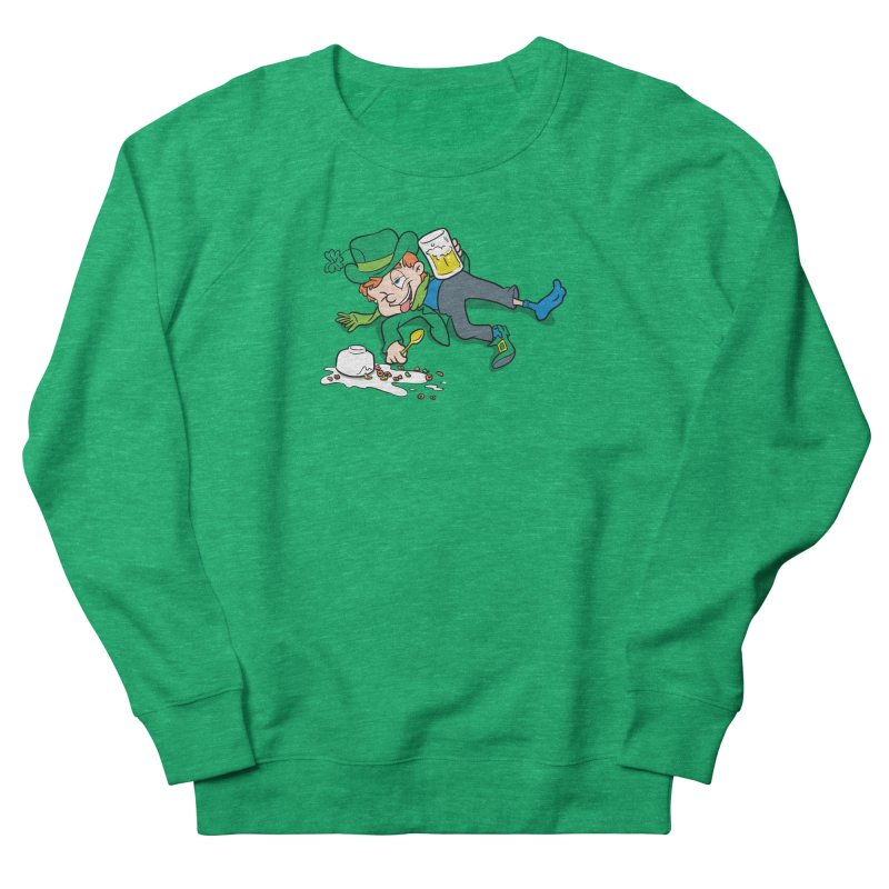 Unlucky Leprechaun Women's French Terry Sweatshirt by Jerkass