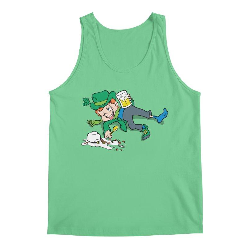 Unlucky Leprechaun Men's Regular Tank by Jerkass