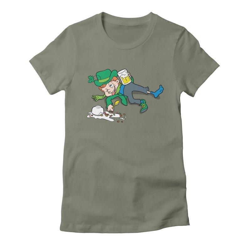 Unlucky Leprechaun Women's T-Shirt by Jerkass