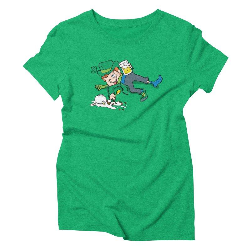 Unlucky Leprechaun Women's Triblend T-Shirt by Jerkass