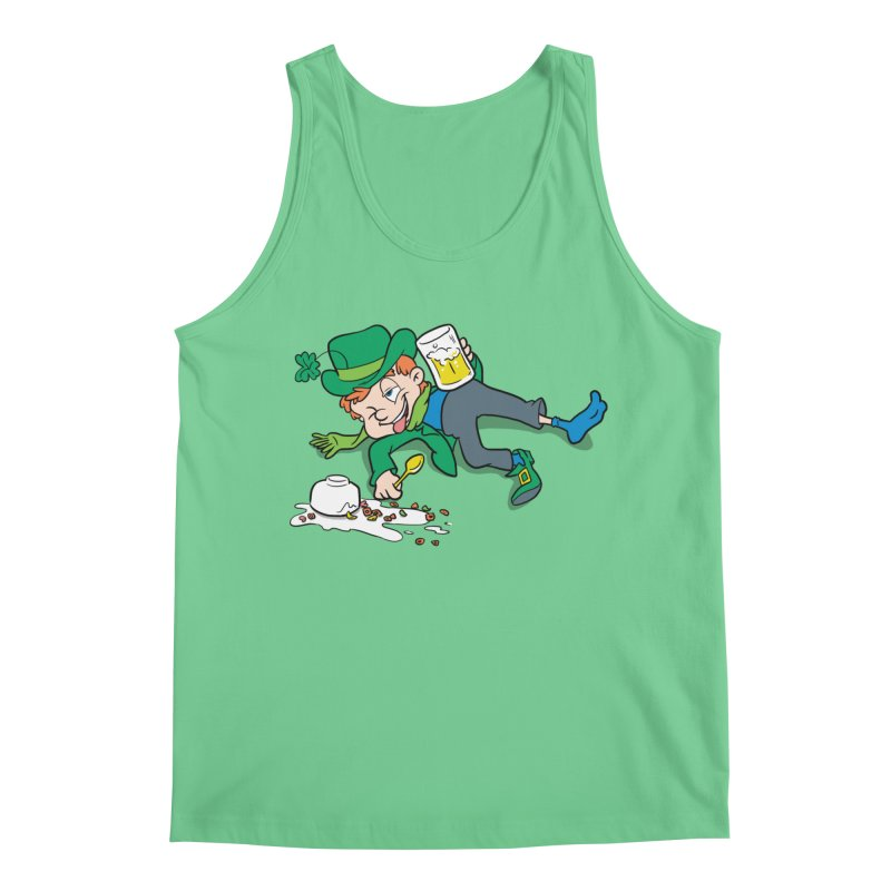 Unlucky Leprechaun Men's Tank by Jerkass