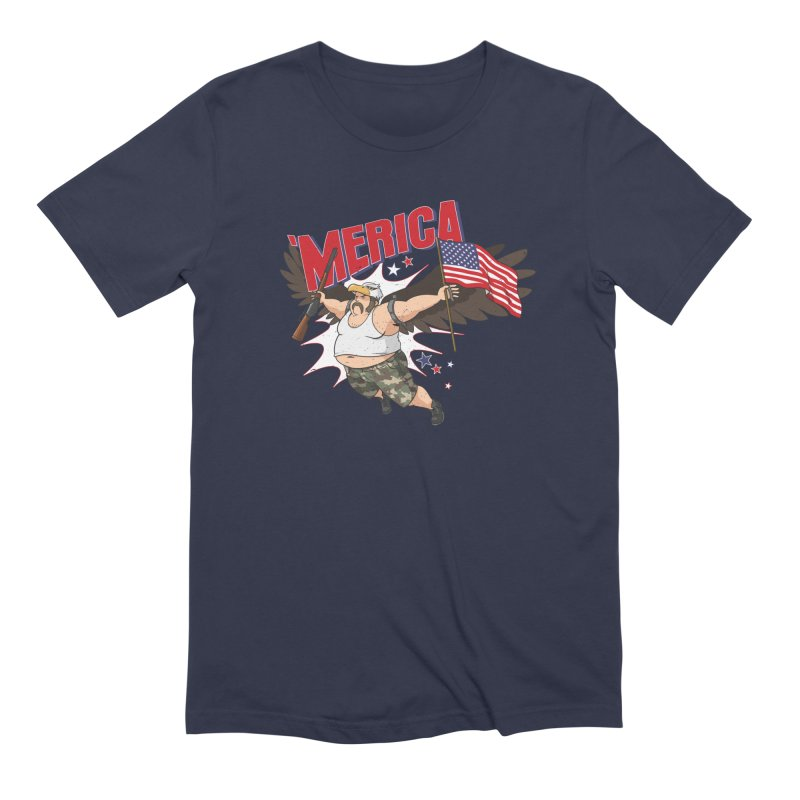 'Merica Men's Extra Soft T-Shirt by Jerkass