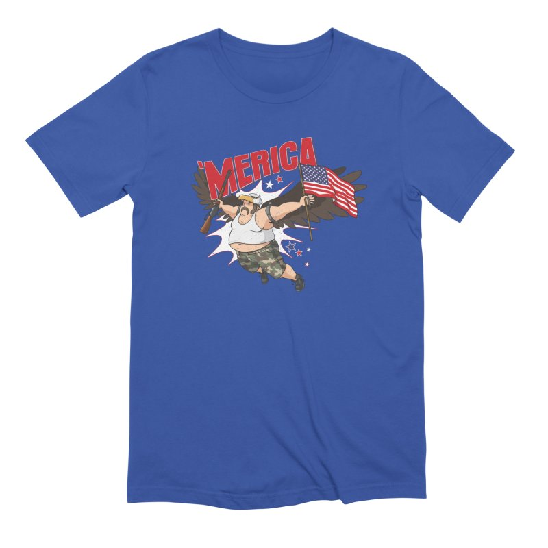 'Merica Men's Extra Soft T-Shirt by Jerkass