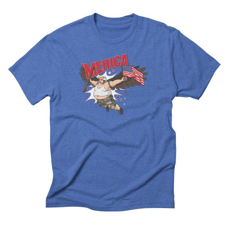 'Merica Men's T-Shirt by Jerkass
