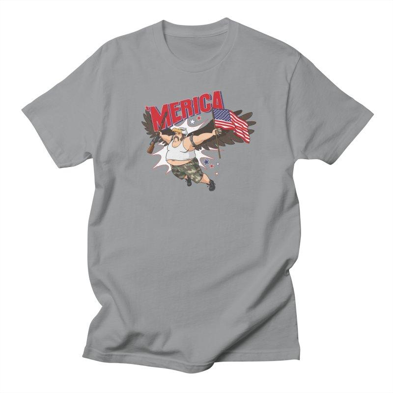 'Merica Women's Regular Unisex T-Shirt by Jerkass
