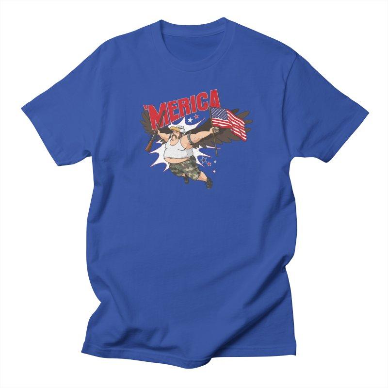 'Merica Men's Regular T-Shirt by Jerkass
