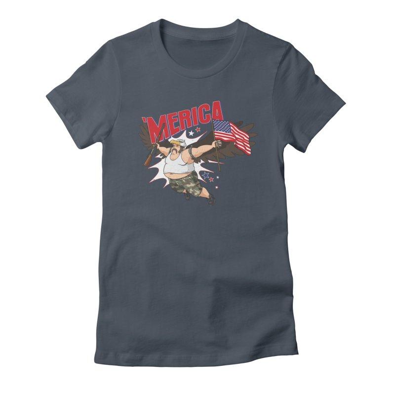 'Merica Women's T-Shirt by Jerkass