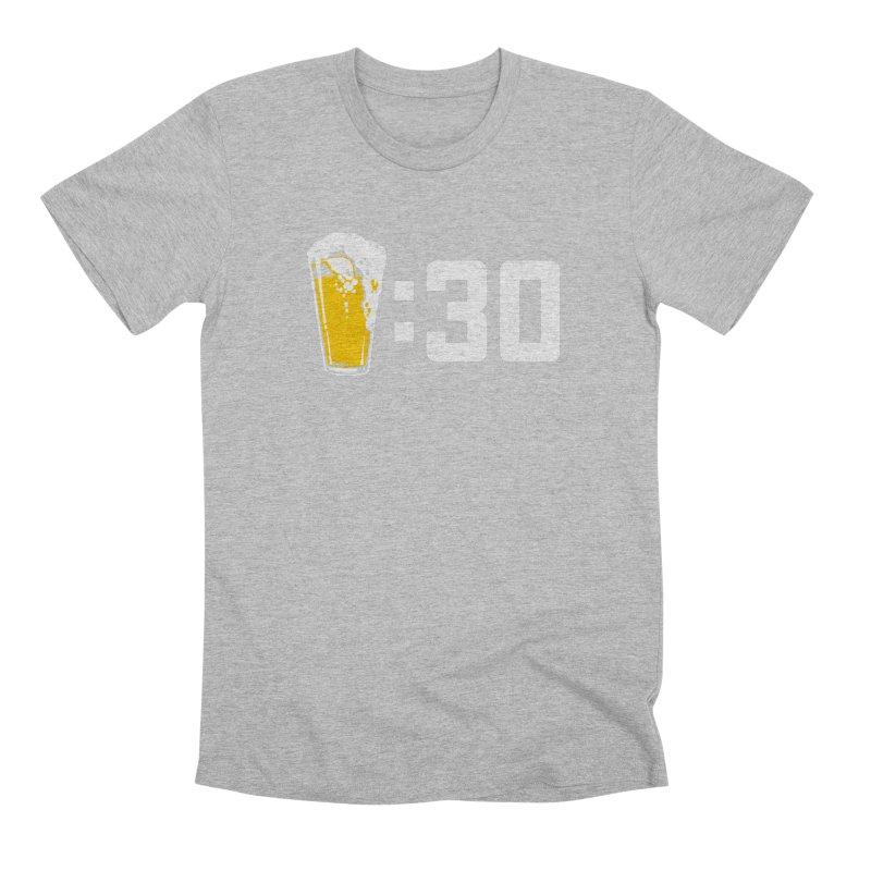 Beer : 30 Men's Premium T-Shirt by Jerkass
