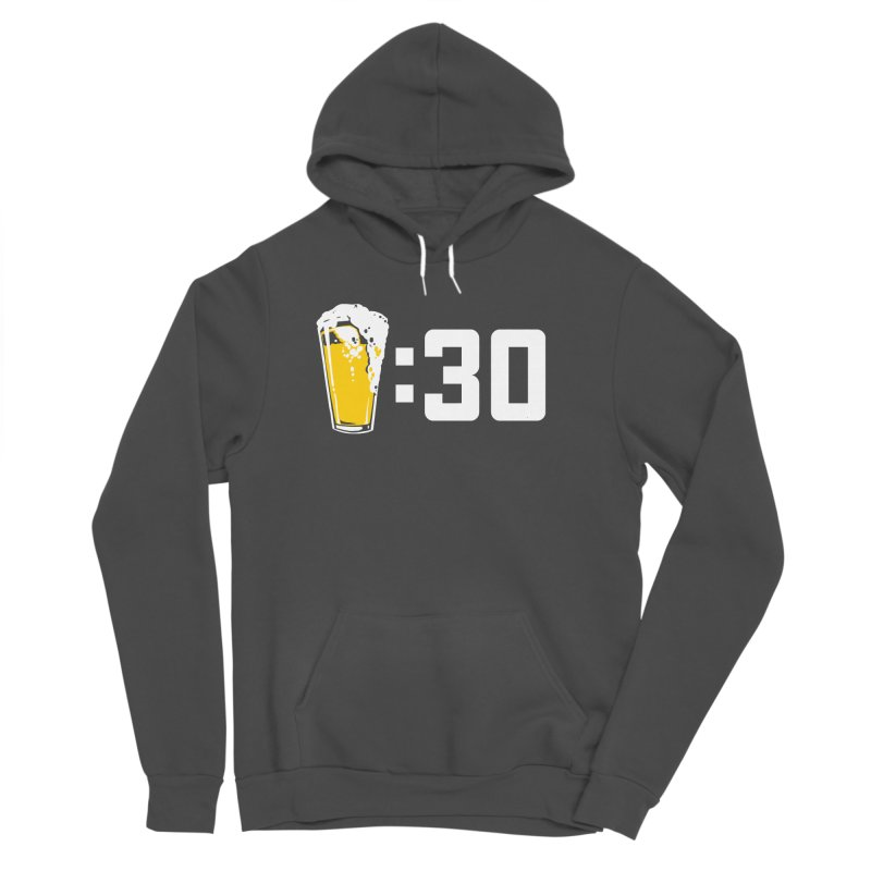 Beer : 30 Women's Sponge Fleece Pullover Hoody by Jerkass