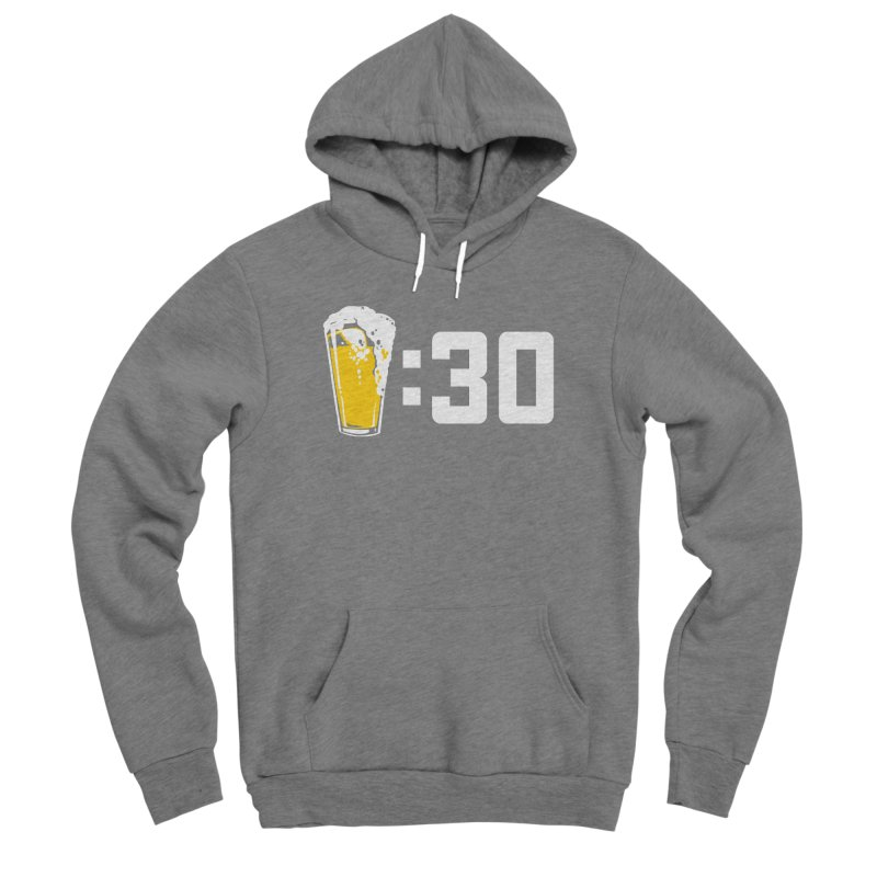 Beer : 30 Women's Sponge Fleece Pullover Hoody by Jerkass