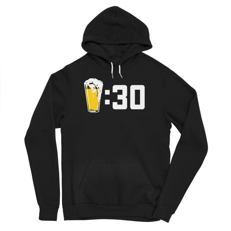 Beer : 30 Men's Sponge Fleece Pullover Hoody by Jerkass