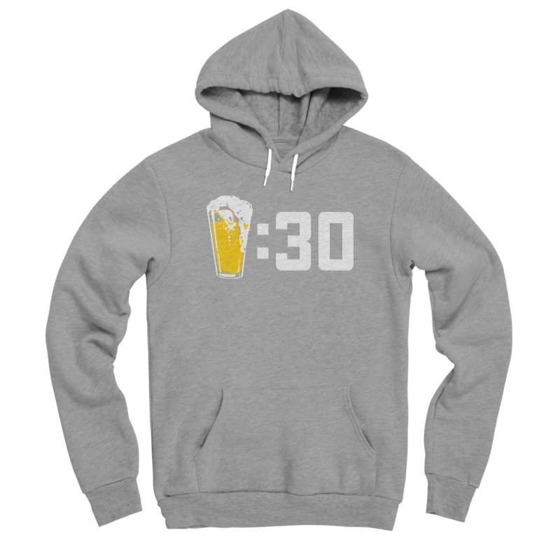 Beer : 30 Men's Sponge Fleece Pullover Hoody by Jerkass