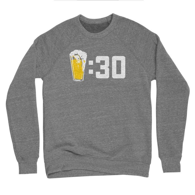 Beer : 30 Men's Sponge Fleece Sweatshirt by Jerkass