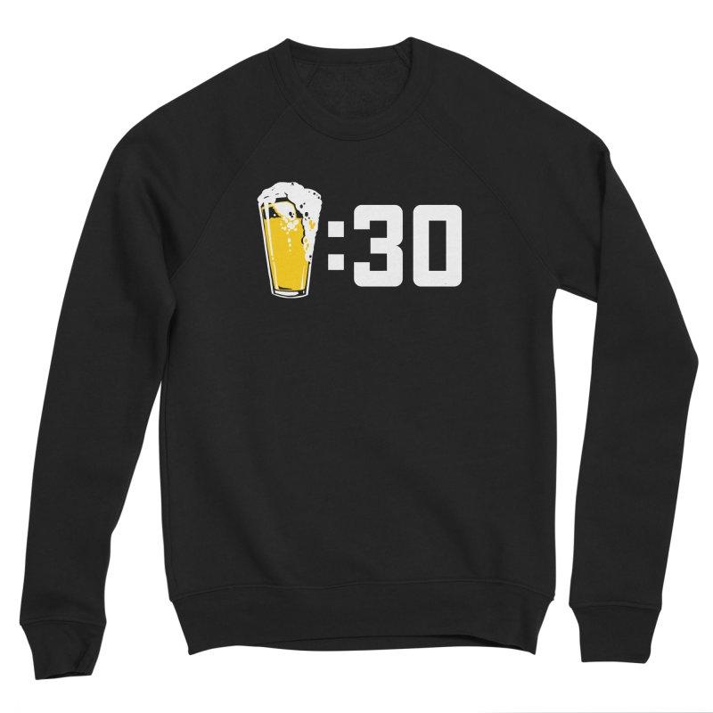 Beer : 30 Women's Sponge Fleece Sweatshirt by Jerkass