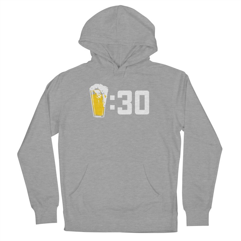 Beer : 30 Men's French Terry Pullover Hoody by Jerkass