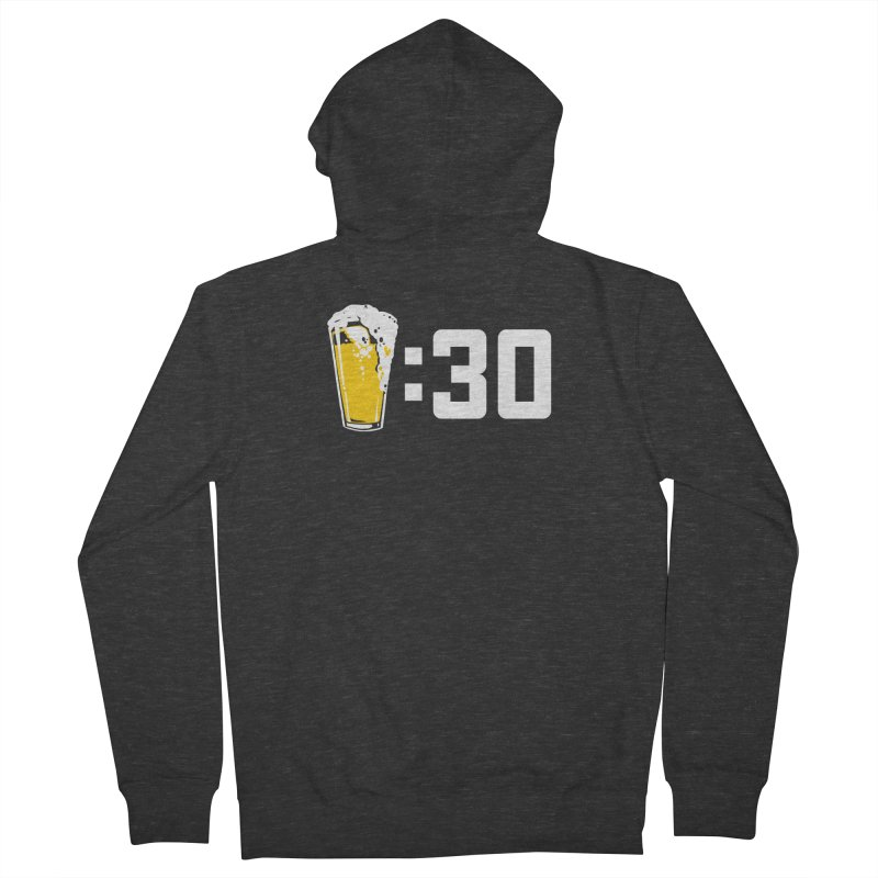 Beer : 30 Women's French Terry Zip-Up Hoody by Jerkass