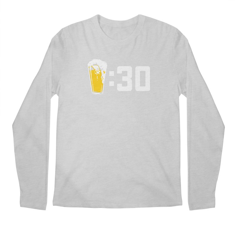 Beer : 30 Men's Regular Longsleeve T-Shirt by Jerkass