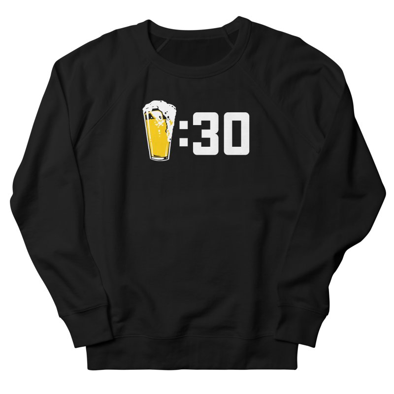 Beer : 30 Men's French Terry Sweatshirt by Jerkass