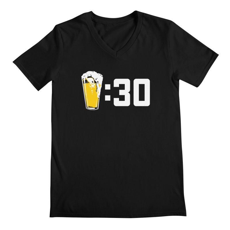 Beer : 30 Men's Regular V-Neck by Jerkass