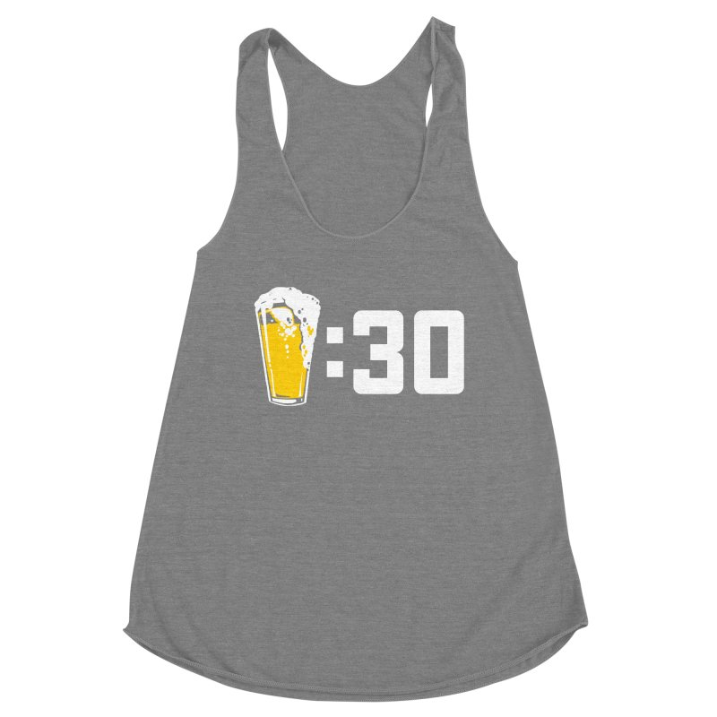 Beer : 30 Women's Racerback Triblend Tank by Jerkass