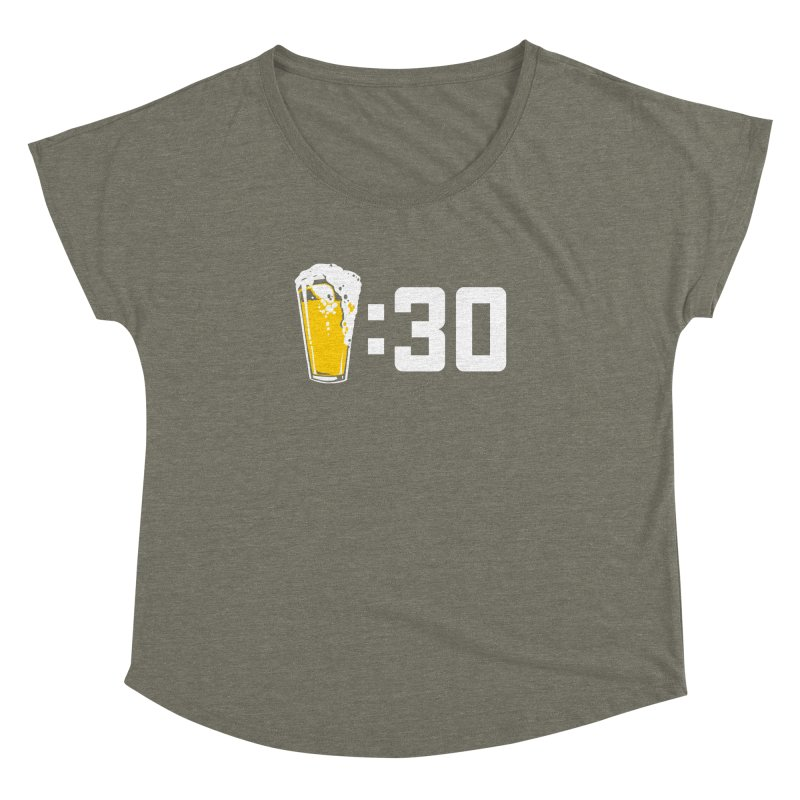 Beer : 30 Women's Dolman Scoop Neck by Jerkass