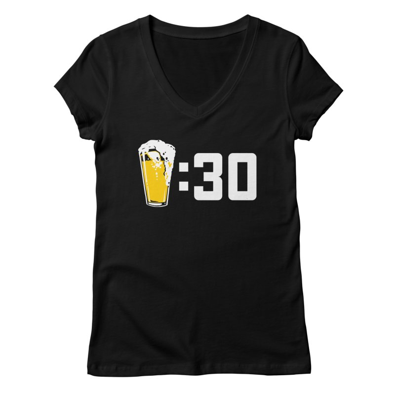 Beer : 30 Women's Regular V-Neck by Jerkass