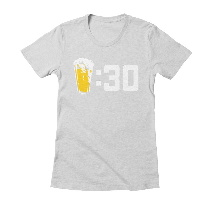 Beer : 30 Women's Fitted T-Shirt by Jerkass