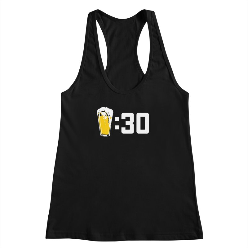 Beer : 30 Women's Racerback Tank by Jerkass