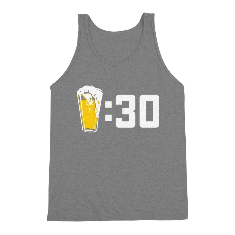 Beer : 30 Men's Triblend Tank by Jerkass