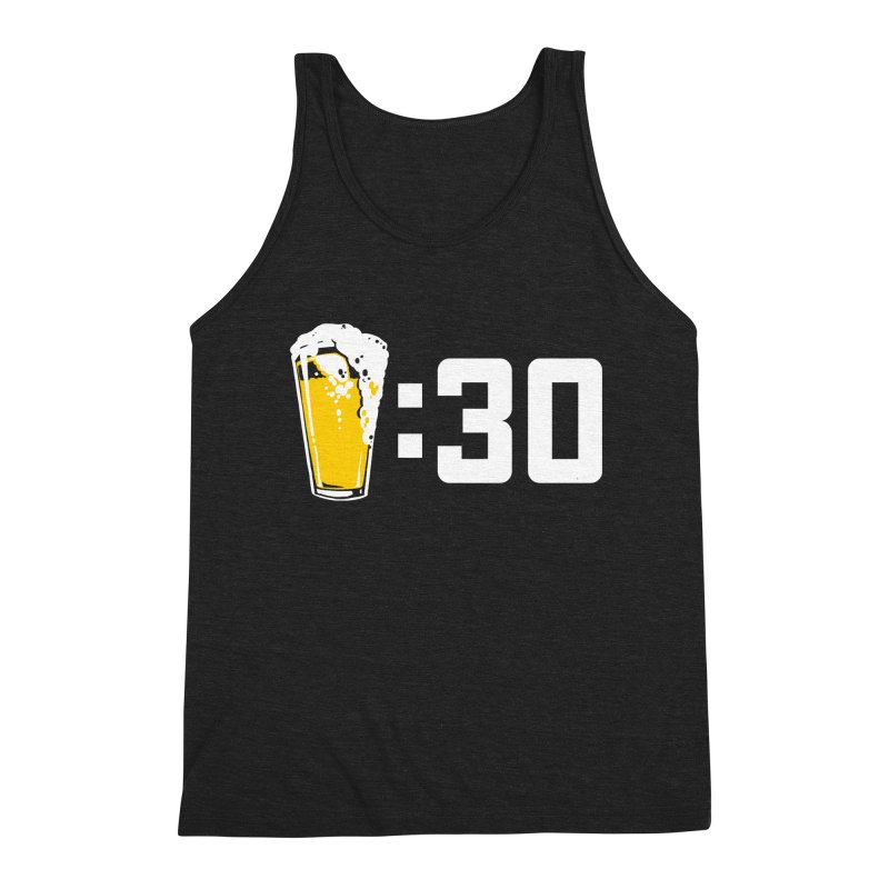 Beer : 30 Men's Triblend Tank by Jerkass