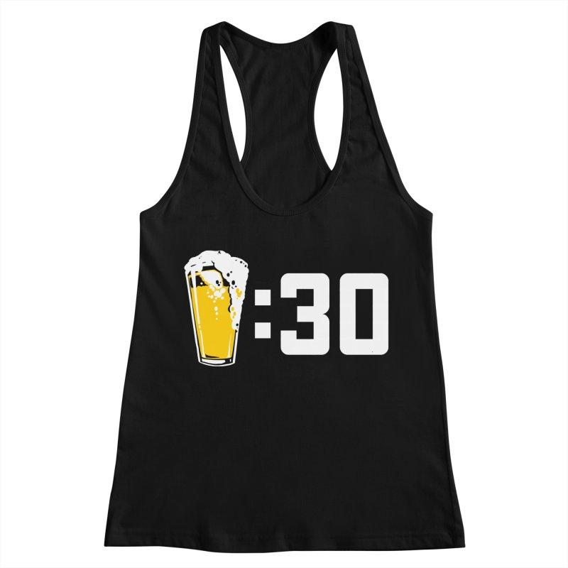 Beer : 30 Women's Racerback Tank by Jerkass